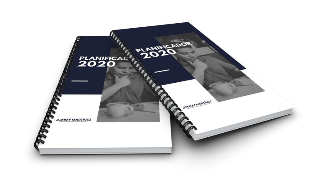 Planeador 2020 para imprimir