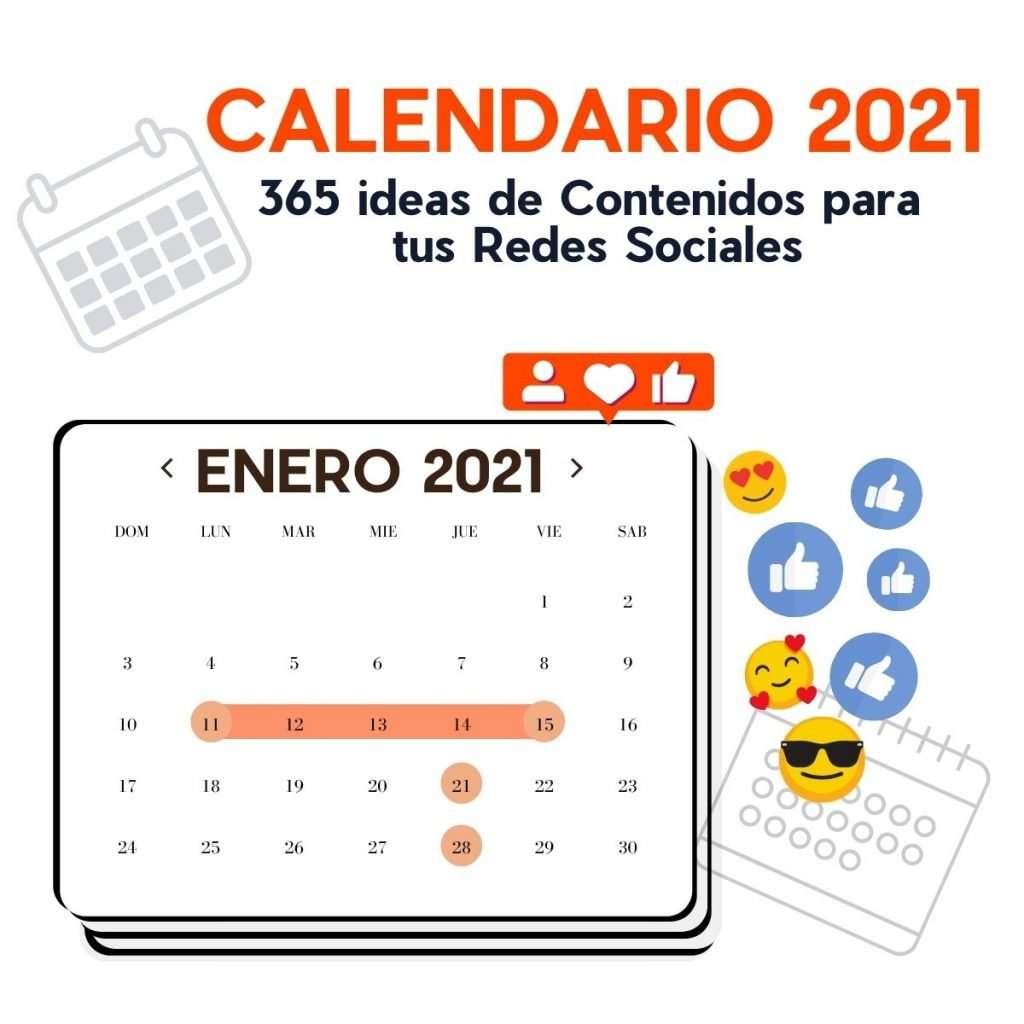 Calendario de Contenidos para Redes Sociales