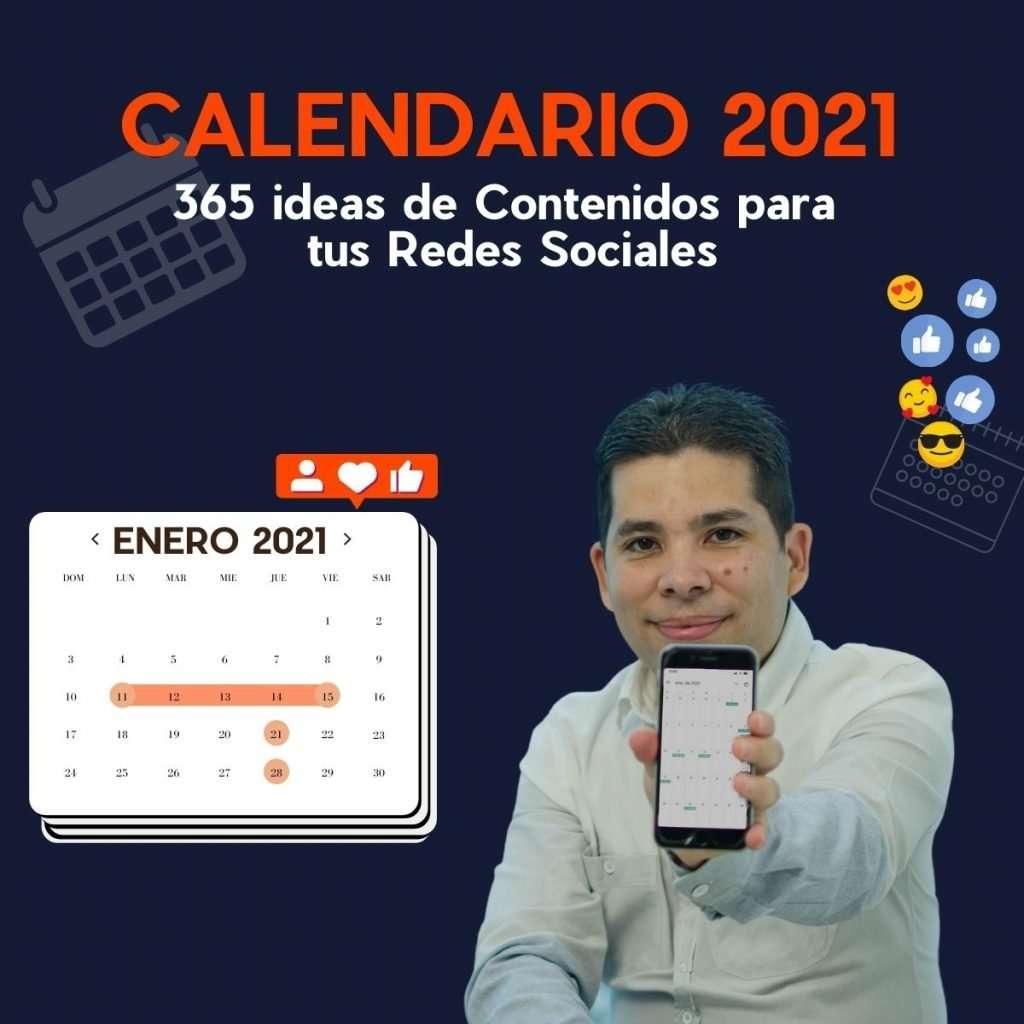 Calendario de Contenidos para Redes Sociales 2021